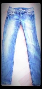 H&M Super Low Waist Skinny Jeans